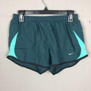 Nike Women's Running Shorts Size S Green D102
